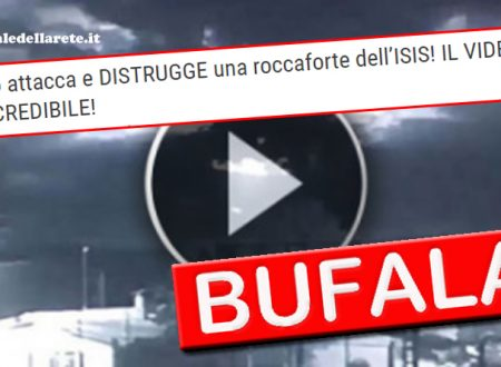 BUFALA UFO ATTACCA E DISTRUGGE ROCCAFORTE ISIS! IL VIDEO INCREDIBILE!