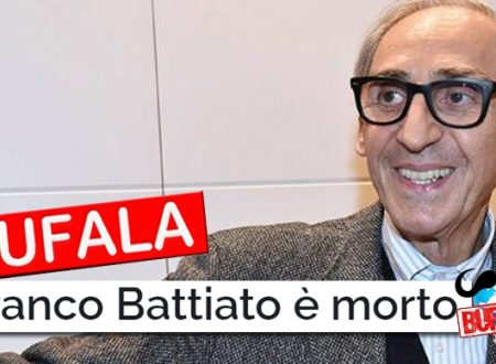 BUFALA – E' MORTO FRANCO BATTIATO