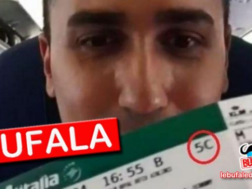 BUFALA – DI MAIO IN AEREO IN BUSINESS CLASS